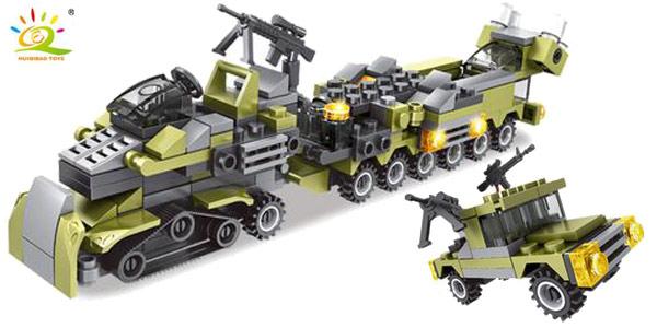 Juego de construcción 296 Piezas Ejército estilo LEGO oferta en AliExpress