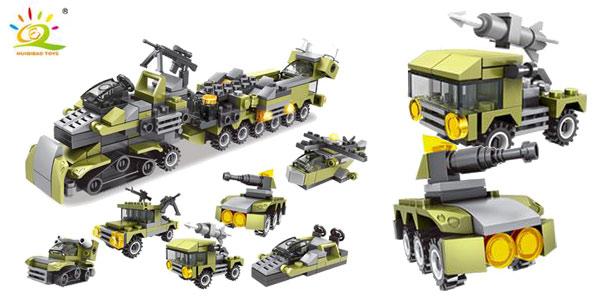 Juego de construcción 296 Piezas Ejército estilo LEGO barato en AliExpress