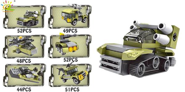 Juego de construcción 296 Piezas Ejército estilo LEGO chollo en AliExpress