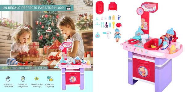 Set de cuidados de muñecas Homcom para niños barato en Amazon