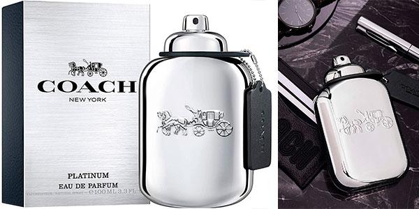 Chollo Eau de parfum Coach Platinum de 100 ml para hombre