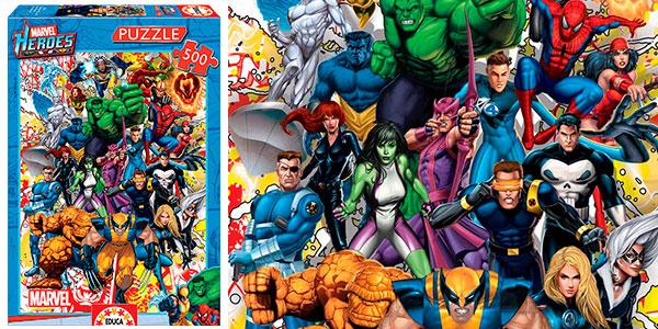 Chollo Puzle Marvel Heroes de Educa de 500 piezas