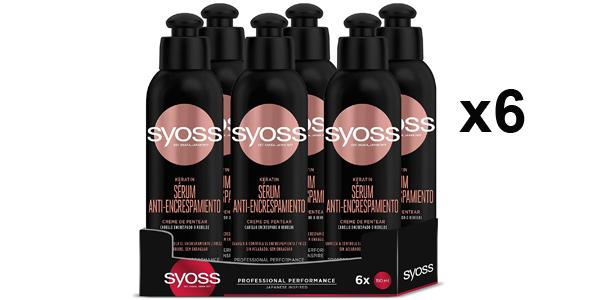 Pack x6 Crema de Peinado Syoss Keratin de 150 ml/ud barato en Amazon