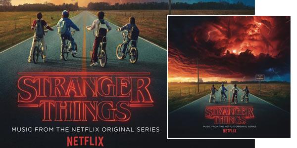 Doble vinilo con la música de Stranger Things chollo en Amazon