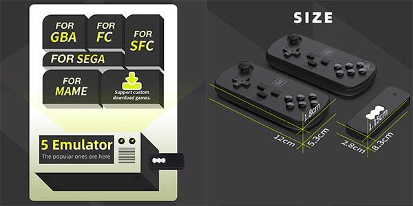 Controla retro Data Frog Y3 Mini barata