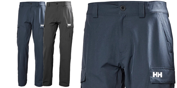 Pantalones Helly Hansen QD Cargo de secado rápido para hombre baratos en Amazon