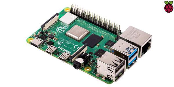 Placa base Raspberry Pi 4 Modelo B 4GB barata en AliExpress